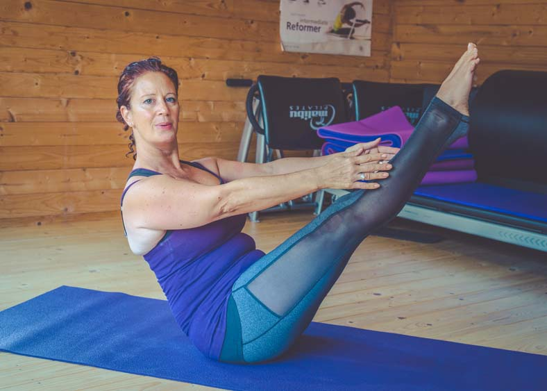 How is your core?  Try these 5 great Pilates exercises to strengthen your core.